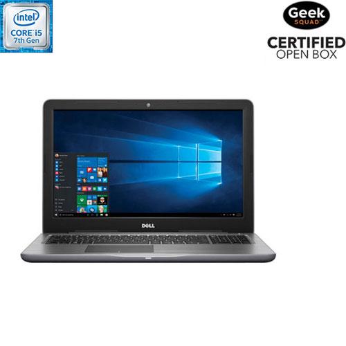 Portable 15,6 po de Dell - Métal (Core i5-7200U d'Intel/DD 1 To/RAM 8 Go/Windows 10) - Boîte ouverte