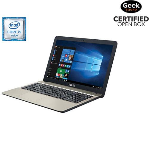 "ASUS VivoBook Max X541UA 15.6"" Laptop - Black (Intel Core i5-6198DU/1TB HDD/8GB RAM/Win10) -Open Box"