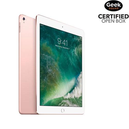 iPad Pro de 9,7 po et 128 Go d'Apple avec Wi-Fi - Rosé - Boîte ouverte