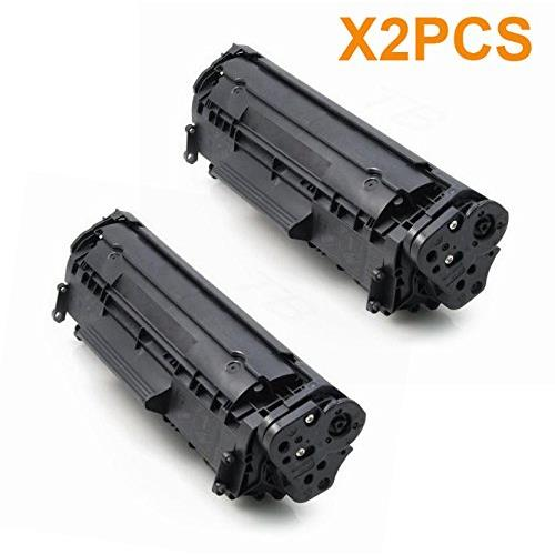 AceToner (TM) 2PCS Compatible Laser Toner Cartridge for HP Q2612A 12A Compatible with HP LaserJet HP LaserJet 1010, 1012, 1018