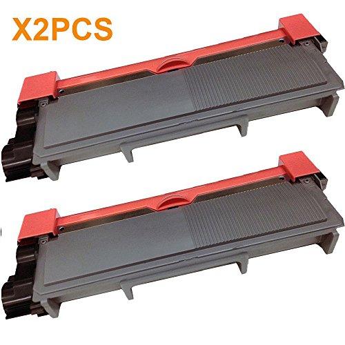 AceToner (TM) 2PCS Toner Cartridge TN-660 (TN660) Compatible for Brother TN-660 Black DCP-L2520DW DCP-L2540DW MFC-L2700DW MFC