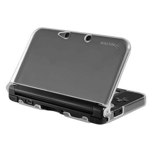 Insten For Nintendo 3DS XL Clear Rubber Case Cover