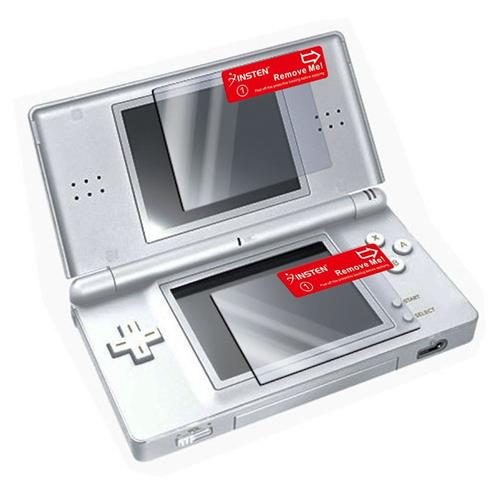 Insten Clear LCD Screen Protector Film Cover For Nintendo DS Lite