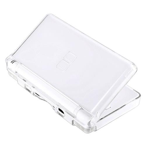 Insten For Nintendo DS Lite Clear Hard Rubberized Case Cover