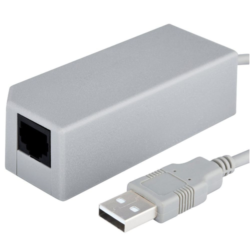 Insten USB 10/100Mbps Ethernet Network LAN Adapter compatible with Nintendo Switch / Wii U / Wii