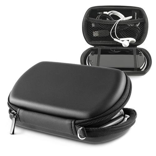 Insten Eva Case compatible with Sony PSP Go, Black