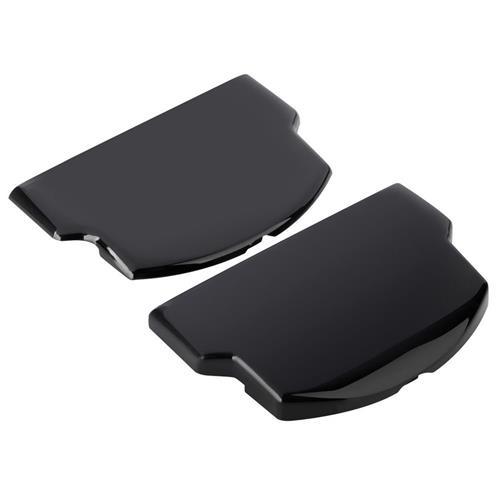 Insten Battery Door Set [Slim Extended] compatible with Sony PSP 2000 / PSP 3000, Black