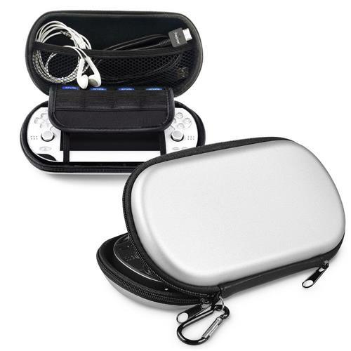 Insten Eva Case compatible with Sony Playstation Vita, Silver