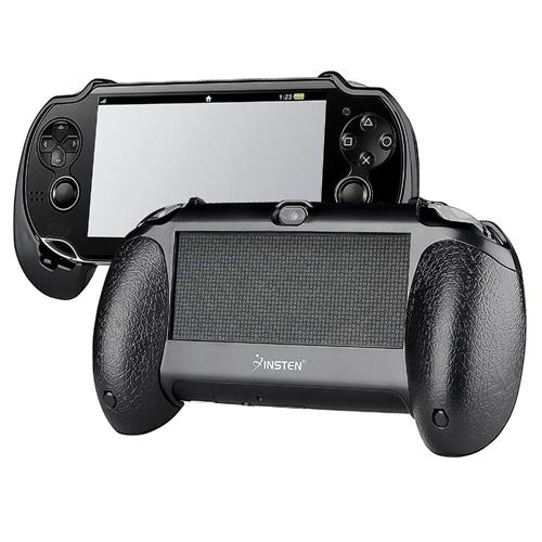 Insten Hand Grip compatible with Sony PlayStation Vita, Black