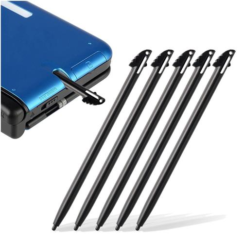 Insten 5-Piece Stylus compatible with Nintendo 3DS XL / LL, Black
