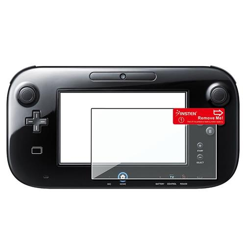 Insten Clear LCD Screen Protector Film Cover For Nintendo Wii U
