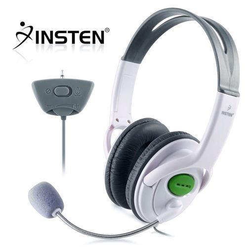 Insten Headset w/ Mic compatible with Microsoft Xbox 360 / Xbox 360 Slim