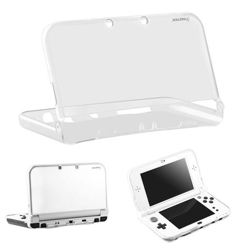 Insten Clear Rubber Case Cover For Nintendo New 3DS LL/3DS XL