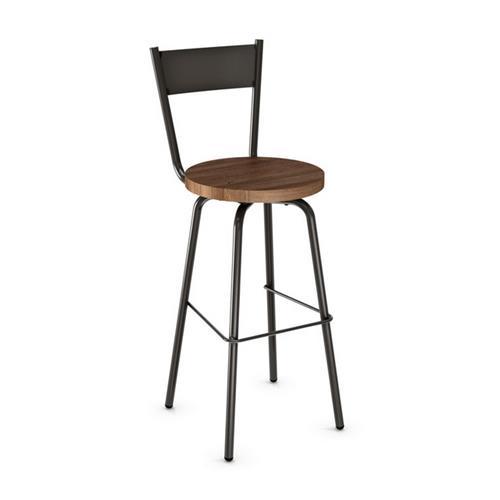 Traditional Swivel Bar Stool W Wood Seat Bar Stools Best Buy Canada