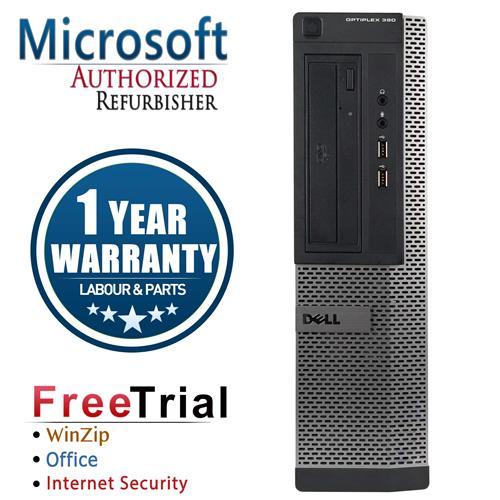 DELL 390 Desktop Intel CORE I5 2400 3.1GHz , 16G DDR3 RAM , 2TB HDD , DVDRW , Windows 10 Pro 64,1 Year Warranty-Refurbished