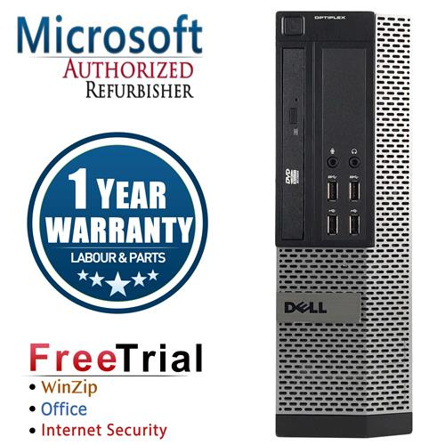 Dell 7010 SFF Desktop Intel Core I5 3450 3.1G , 4G DDR3 , 1TB , DVD , Windows 7 Pro 64 Bit, 1 Yr Warranty-Refurbished