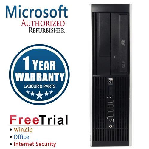 HP 6000 PRO SFF Desktop Intel Core 2 Quad Q8200 2.33 GHz , 4G DDR3 , 500G , DVDRW , Win 10 PRO 64,1 Yr Warranty-Refurbished