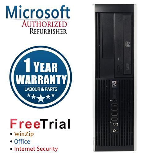 HP ELITE 8000 SFF Desktop Intel Core 2 Duo E8400 3.0 GHz , 4G DDR3 , 160G , DVD , Win 10 PRO 64,1 Year Warranty-Refurbished