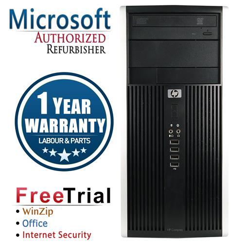 HP ELITE 8300 Tower Intel Core i5 3470 3.2GHz , 4G DDR3 RAM , 1TB HDD , DVD , Windows 10 Pro 64 , 1 Year Warranty-Refurbished
