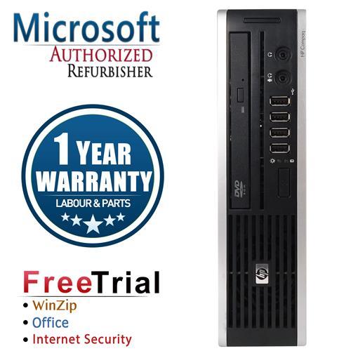HP 8300 Ultra SFF Desktop Intel Core i5 3470S 2.9GHz , 4G DDR3 , 250G , DVD , Windows 10 Pro 64,1 YEAR Warranty-Refurbished