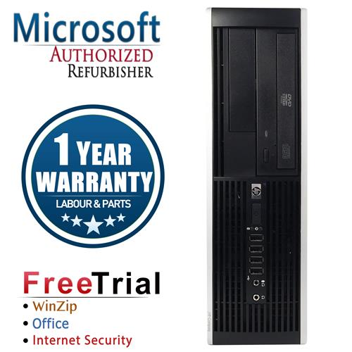 HP 6300 PRO SFF Desktop Intel Core i5 3470 3.2GHz , 8G DDR3 , 1TB , DVD , Windows 10 Pro 64 , 1 Year Warranty-Refurbished