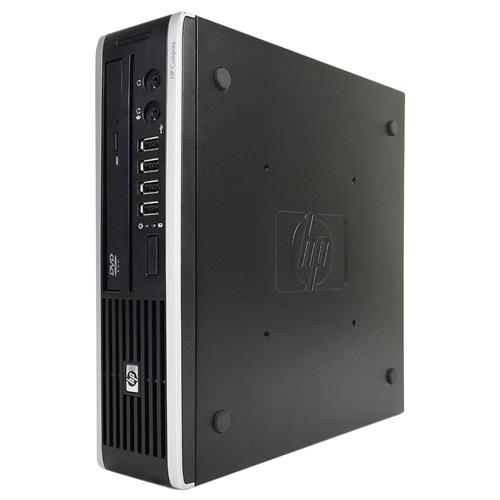 Refurbished HP 8000 Ultra small form factor Desktop Intel Core 2 D E8400 3.0 GHz, 4G DDR3, 160GB, DVD, WIFI, Win 10 PRO 64 Bit