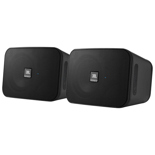 JBL Control X Rugged Bluetooth Wireless Speakers - Pair - Graphite