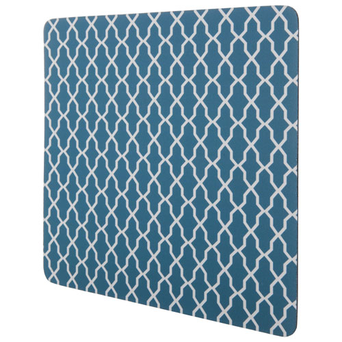 Insignia Geo Mouse Pad (NS-PNP8012-C) - Blue/White