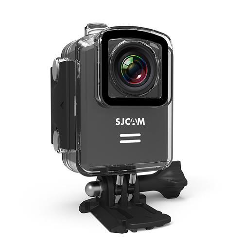 SJCAM M20 WiFi Sports Action Camera (Black), 4K 1080P, Waterproof 30M, Gyro Stabilization, 166-Degree Wide-Angle, Camcorder