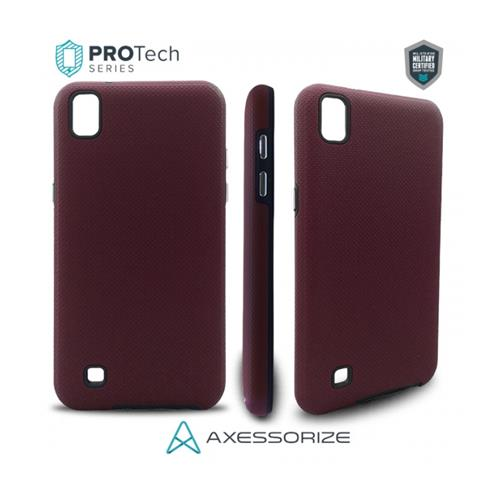 Protech Axessorize LG X Power Burgundy Red
