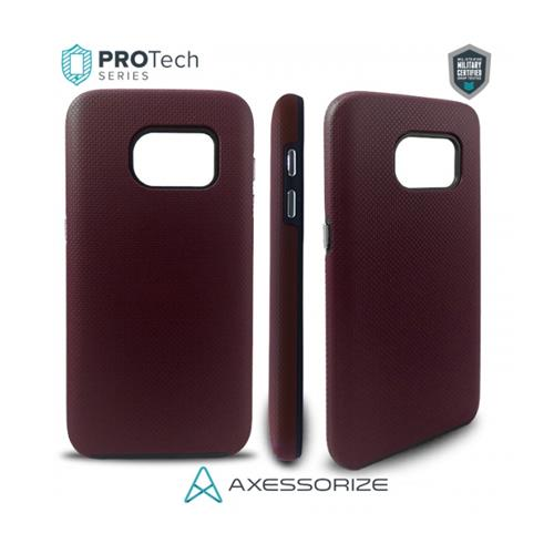 Protech Case Axessorize Samsung Galaxy S7 Burgundy Red