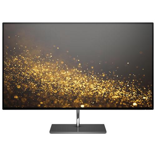 Moniteur DEL IPS sans cadre GTG HD intégrale 4K 24 po 60 Hz 7 ms FreeSync Envy de HP - Noir