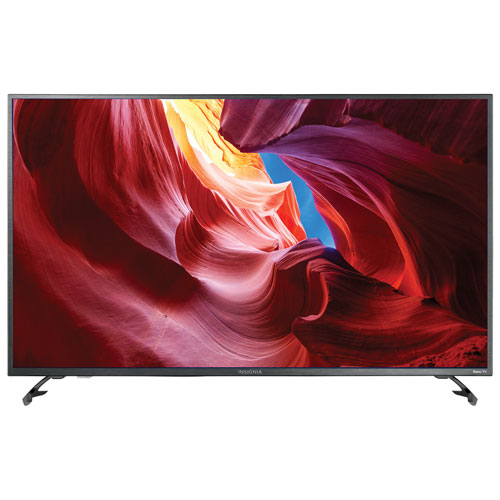 """Insignia 43"""" 4K UHD LED Roku Smart TV (NS-43DR620CA18) - Only at Best Buy"""