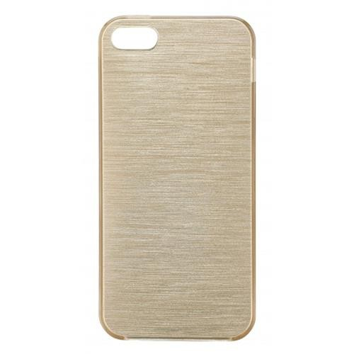 Blu Element Brushed TPU iPhone 5/5S/SE Gold Case