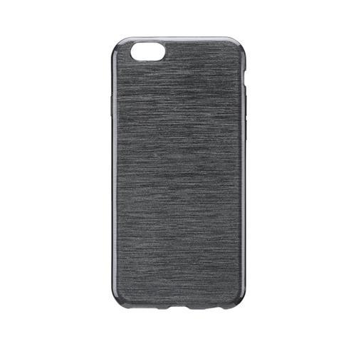 Blu Element Brushed Gel Skin iPhone 6/6S Black Case