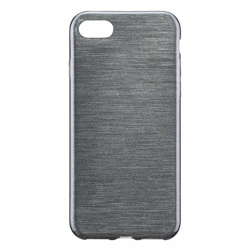 Blu Element Brushed Gel Skin iPhone 7 Black Case