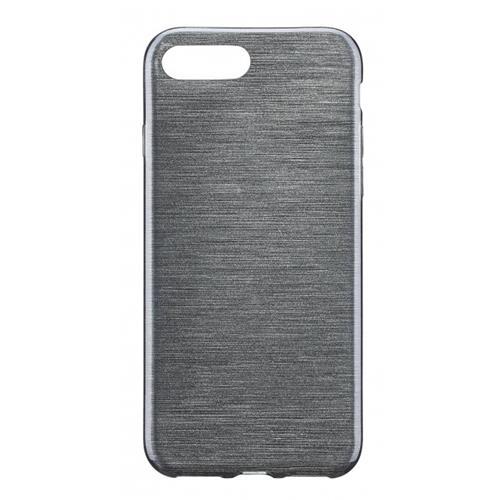 Blu Element Brushed Gel Skin iPhone 7 Plus Black Case