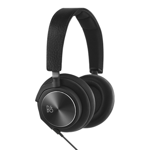 B&O Play H6 (Black Leather) Over-Ear Headphones
