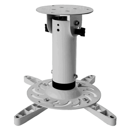 Antra Universal Ceiling Projector Mount Holds up to 33 lbs Silver in Metal