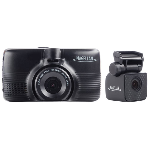 "Magellan MiVue 480D 1296p Dashcam with 2.7"" LCD & GPS Ready and 1080p Rear-View Camera"