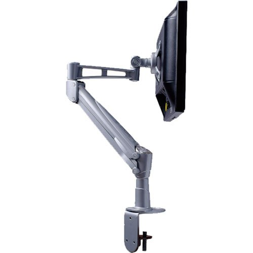 """DURAMEX Deluxe Professional Grade Gas Spring Single LCD Monitor Desk Mount Stand Fully Adjustable upto 28"""""""