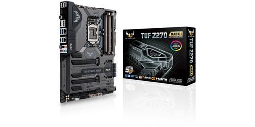 ASUS TUF Z270 Mark 1 LGA1151 Kaby Lake DDR4 DP HDMI M.2 USB 3.1 Z270 Aura Sync ATX Motherboard