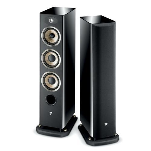 Focal Aria 926 (Black Lacquer) Bookshelf Speakers
