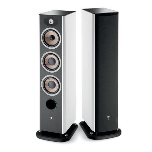 Focal Aria 926 (White Lacquer) Bookshelf Speakers