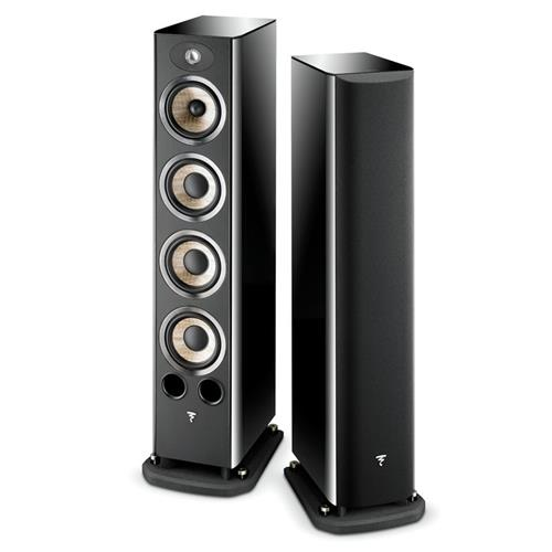 Focal Aria 936 (Black Lacquer) Bookshelf Speakers