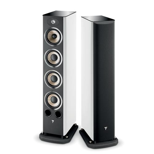 Focal Aria 936 (White Lacquer) Bookshelf Speakers
