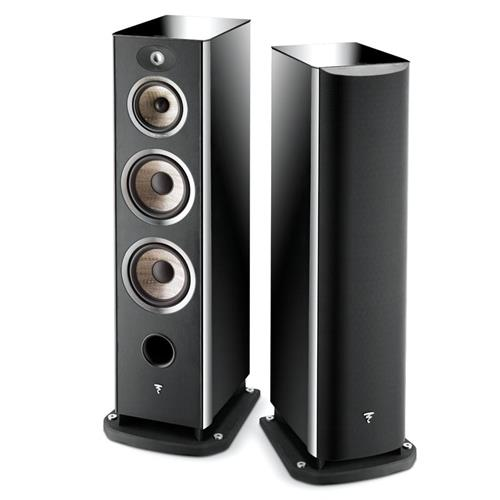 Focal Aria 948 (Black Lacquer) Bookshelf Speakers