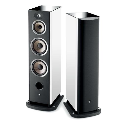 Focal Aria 948 (White Lacquer) Bookshelf Speakers