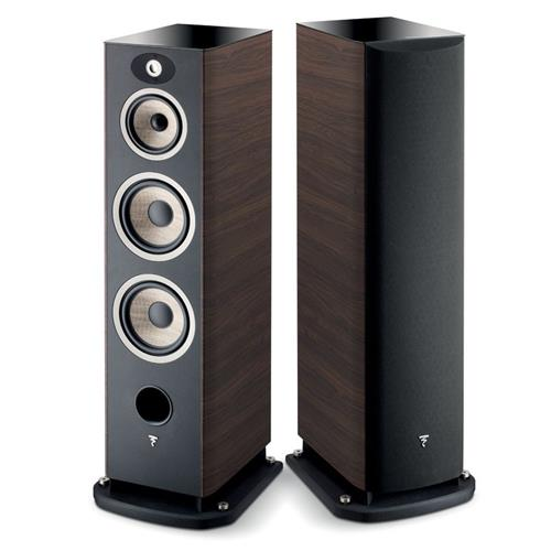 Focal Aria 948 (Walnut) Bookshelf Speakers