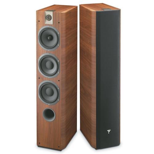Focal Chorus 726 (Walnut) Floor Standing Speakers